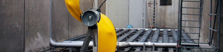 Flygt low-speed mixers 4400 series
